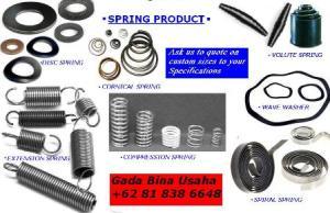 Karet Konstuksi - Gada Bina Usaha 081233069330 - Spring, Pegas, Per Industri