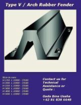 Karet Konstuksi - Gada Bina Usaha 081233069330 - Rubber Fender (Karet Fender,Dock Bumper)