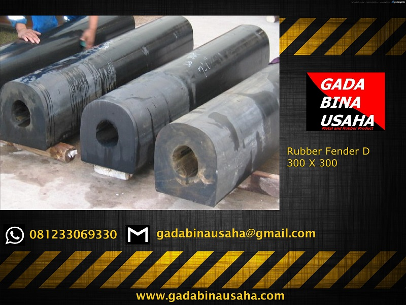 rubber fender D 300